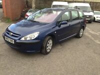 PEUGEOT 307 HDI - ESTATE - DRIVES GREAT, EXCELLENT FOR FAMILY OR WORK