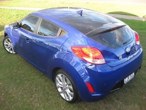 2013 Hyundai Veloster FS MY13 Blue 6 Speed Auto Dual Clutch Coupe South Grafton Clarence Valley Preview