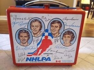 1974 NHLPA Lunch Box $15 obo