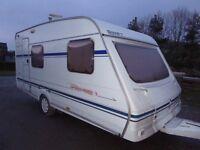 2001 Swift Speedbird 460/4 berth compact fixed bed. Excellent throughout