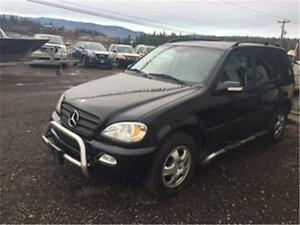 2002 MERCEDES BENZ ML320