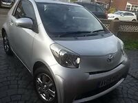 Toyota iQ 1.0 VVT-i 2 with full year mot £0 road tax low mileage may n eccellent condition
