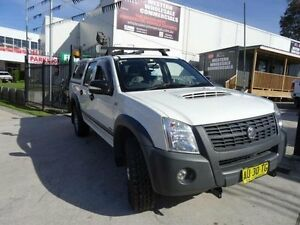 2008 Holden Rodeo RA MY08 LX (4x4) White 4 Speed Automatic Crewcab St Marys Penrith Area Preview