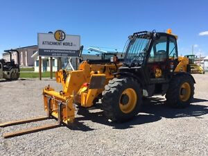 JCB 550-140 10,000# 44' telehandler for sale! LOW HOURS! $80,000