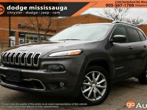 2018 Jeep Cherokee Limited+CO CAR+NAV+LEATHER+MORE