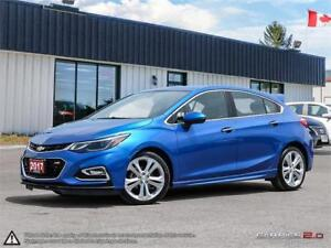 2017 Chevrolet Cruze Premier,LOW KMS,LEATHER,HEATED F+R SEATS