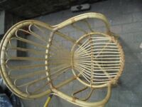 Wicker Chair - Used. but in VGC