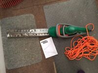 Reduced - Black and Decker electric hedge trimmer