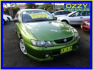 2003 Holden Commodore VY S Green 4 Speed Automatic Sedan Minto Campbelltown Area Preview