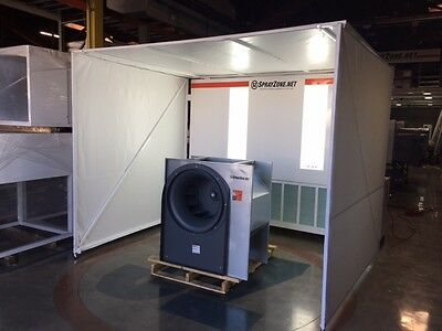 Mobile Prep Spray Booth U.s.a Made Approved Free Local Shipping