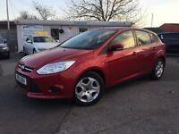 FORD FOCUS 1.6 EDGE TDCI 115 5d 114 BHP (red) 2013
