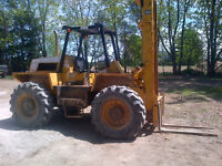 load lifter lifts 30 ft 4x4 fork lift first $5000 takes it