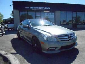 MERCEDES-BENZ E550 COUPE 2010 **69 000 KM**