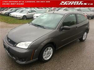 2007 Ford Focus SE! New Brakes! PWR Options! Alloys! Keyless Ent