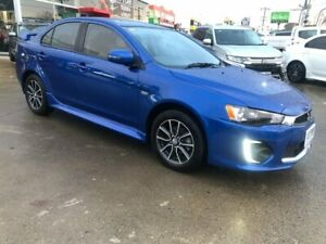 2017 Mitsubishi Lancer CF MY17 ES Sport Blue 6 Speed Constant Variable Sedan Hoppers Crossing Wyndham Area Preview