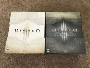 BRAND NEW!  Diablo 3 & Reaper of Souls Collectors Editions.