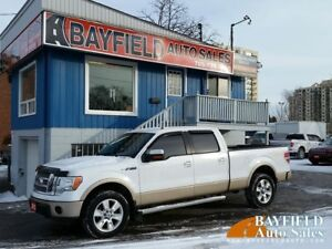 2012 Ford F-150 Lariat Supercrew 4x4 **5.0L/Leather/Navigation**
