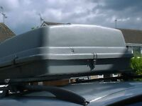 roof top box . size 110x90 gray