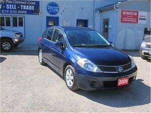 2009 Nissan Versa 1.8S|LOW K|NO ACCIDENTS|NEW TIRES|MUST SEE