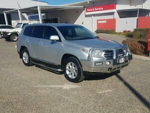 2011 Toyota Kluger GSU40R MY11 Upgrade KX-R (FWD) 5 Seat Silver Pearl 5 Speed Automatic Wagon Warwick Southern Downs Preview