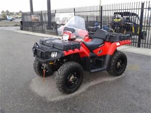 POLARIS SPORTSMAN X2-HARD TO FIND WITH LOW HRS & KM! NO GST!