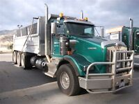 Gravel Truck with Quad for Sale