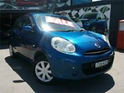 2012 Nissan Micra K13 Upgrade ST Blue 4 Speed Automatic Hatchback Greenacre Bankstown Area Preview