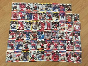 Excellent Condition NHL Pro Set Hockey Cards