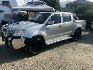 2005 Toyota Hilux KUN26R MY05 SR 3.0 T/Diesel Gold 5 Speed Manual Dual Cab Arundel Gold Coast City Preview
