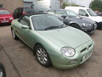 MG MGF - X117UPD - DIRECT FROM INSURANCE COMPANY