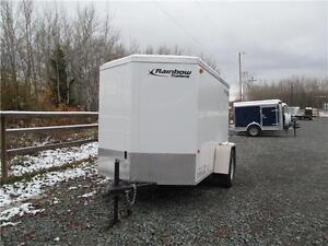 CANADIAN MADE 5'  x 8' CARGO WITH A V-NOSE Prince George British Columbia image 2