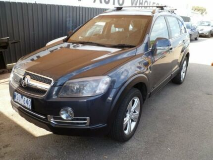 2008 Holden Captiva CG MY08 LX AWD Grey 5 Speed Sports Automatic Wagon