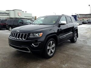 2014 Jeep Grand Cherokee Limited/MOONROOF/GOLDPLAN WARRANTY