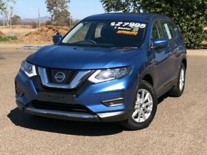 2017 Nissan X-Trail T32 Series II ST X-tronic 2WD Blue 7 Speed Constant Variable Wagon Hillvue Tamworth City Preview