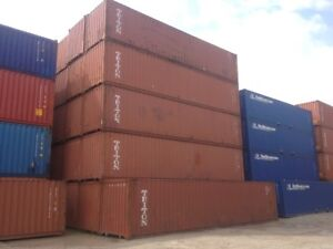 Safe / Secure Storage containers - Sarnia