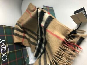 e8612fe908d BURBERRY - The Classic Check Cashmere Scarf