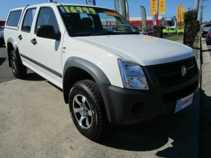2007 Holden Rodeo RA MY06 Upgrade LX White 5 Speed Manual Crewcab Capalaba Brisbane South East Preview