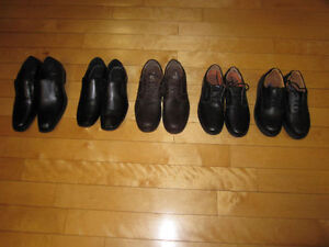 Brand New Men's Leather Shoes -Variety - 7 1/2,8, 9 1/2, 11 & 13