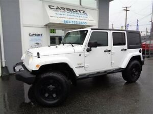 "2012 Jeep Wrangler Unlimited Sahara 4Dr, LIFT, New 33"" All Terra"