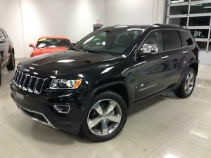 2016 Jeep Grand Cherokee Limited, CUIR, DÉMARREUR, V6,