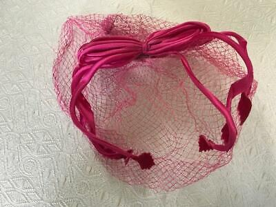 1950s Mens Hats | 50s Vintage Men's Hats 1950's 2 hot pink velvet womens hats/ toque /one is a veil type/ preowned $15.00 AT vintagedancer.com