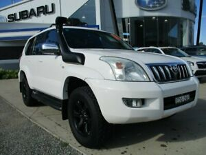 2006 Toyota Landcruiser Prado KZJ120R GXL White 5 Speed Manual Wagon Glendale Lake Macquarie Area Preview