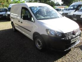 2013 Volkswagen Caddy Maxi 1.6TDI NO VAT C20 Maxi 80000 MILES GUARANTEED