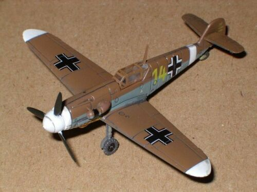 Takara 1/144 Messerschmitt Bf-109 Brown (Desert Scheme) from Famous Air Planes 1