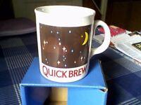 QUICKBREW TEA MAGIC COLOUR CHANGING MUG - UNUSED