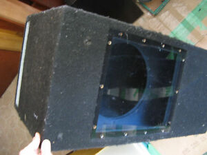 "LARGE EMPTY 12"" BANDPASS SUBWOOFER BOX"