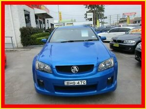 2008 Holden Ute VE SS V Blue Auto Sports Mode Utility North Parramatta Parramatta Area Preview