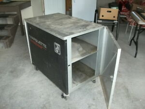 Steel Cabinet on wheels