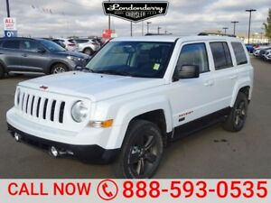2017 Jeep Patriot 4WD 75TH ANNIVERSARY Heated Seats,  Sunroof,