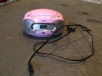 CD player - pink